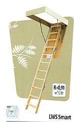 Сходи на горище 60х94 Факро (Fakro) LWS  лестницы fakro, дахові сходи,купити,ціна,львів