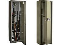 Сейф оружейный САФАРИ EL (4 ствола) (ВхШхГ - 1500х450х350)