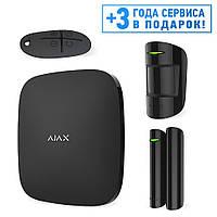 Комплект сигнализации Ajax StarterKit черный/белый