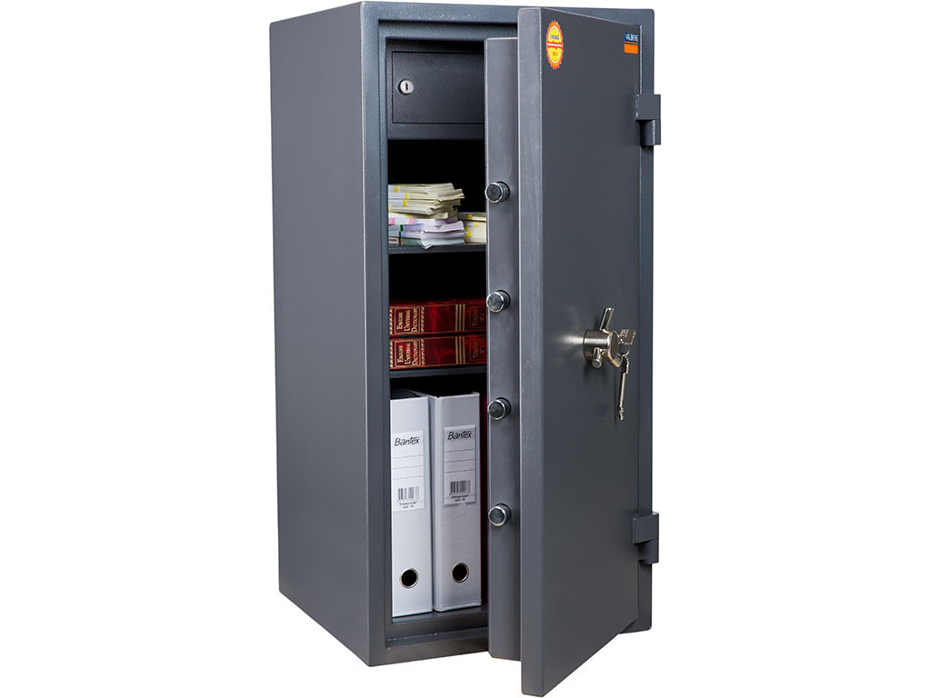 Сейф огневзломостойкий Гранит-90T (ВхШхГ - 900х440х430)