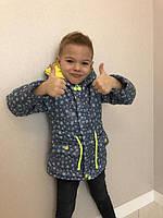 Куртка-парка с принтом для мальчиков и девочек