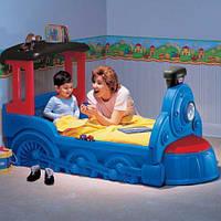 Интерактивная детская кроватка Choo Choо  Little Tikes - США - Передний контейнер кровати (с крышкой)