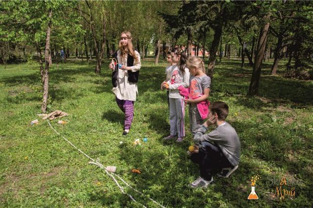 Картинка квест для детей в парке