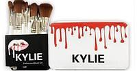 Профессиональный набор кистей для макияжа Kylie 12 шт.