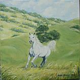"""Картина """"Белогривая лошадка"""", фото 3"""