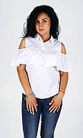 """Блуза рюша """"2153"""", фото 1"""