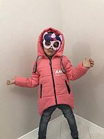 Стильная куртка-парка для девочек