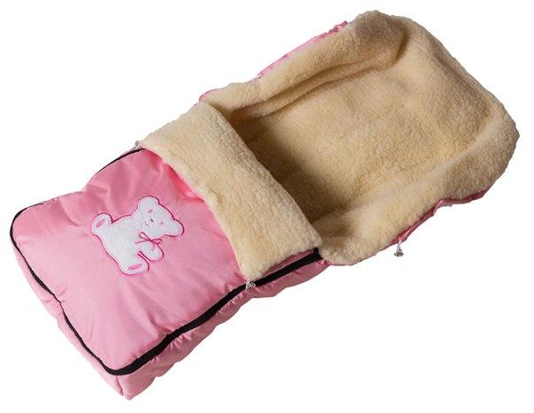 Зимний конверт Умка Мишка розовый
