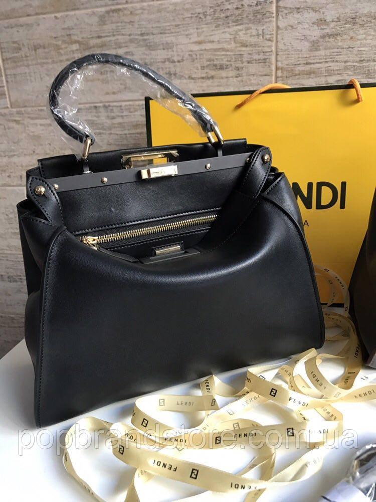 321a88611bb2 Стильная женская сумка FENDI 32 см (реплика) - Pop Brand Store | брендовые  сумки