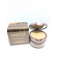 Компактная рассыпчатая пудра 2 in 1 для лица Naked3