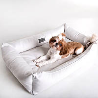 Dog Bingle White - Бингл (мягкий лежак с бортами для собак)