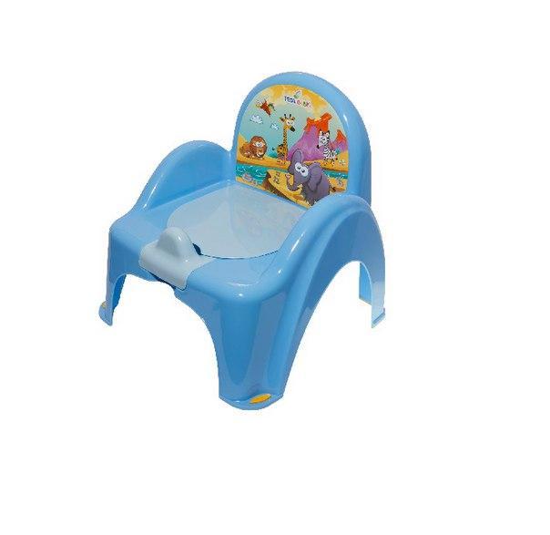Горшок-кресло Tega Веселка SF-10 САФАРИ голубой