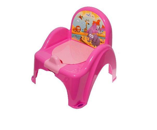 Горшок-кресло Tega Веселка SF-10 САФАРИ розовый
