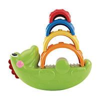 Веселый крокодил Складывай и качай Fisher-Price (CDC48)