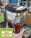 """Корзина для белья из пластика с рисунком """"Морские звёзды"""". Элиф (Elif), Турция, фото 7"""