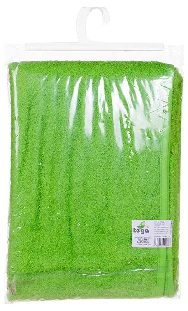 Для Купания Tega Полотенце 100*100 В Кульке Попугай Зеленый
