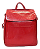 Модный женский рюкзак красного цвета из натуральной кожи NNW-001211
