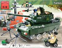 Конструктор Tanks из серии Combat Zones от компании Brick, модель 823