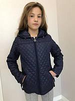 Стеганная короткая куртка на подростка