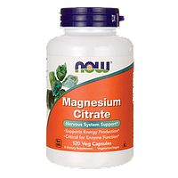 Кардиопротектор, снижение артериального давления - Магний цитрат / Magnesium Citrate, 200 мг 120 капсул