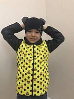 Куртка для девочек с микки + шапка