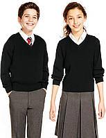 Шерстяной кардиган M&S для школьников