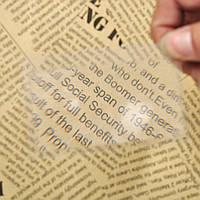 Лупа увеличительная пластиковая, размер кредитной карты, фото 1