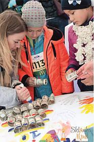 Организация детской зоны на Kyiv Half Marathon 9.10.2016 от Склянка Мрий 1