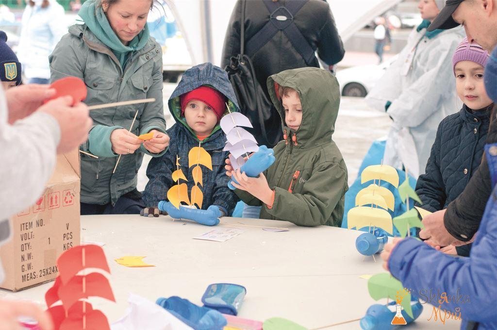 Организация детской зоны на Kyiv Half Marathon 9.10.2016 от Склянка Мрий 7