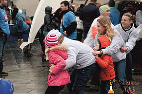 Организация детской зоны на Kyiv Half Marathon 9.10.2016 от Склянка Мрий 9
