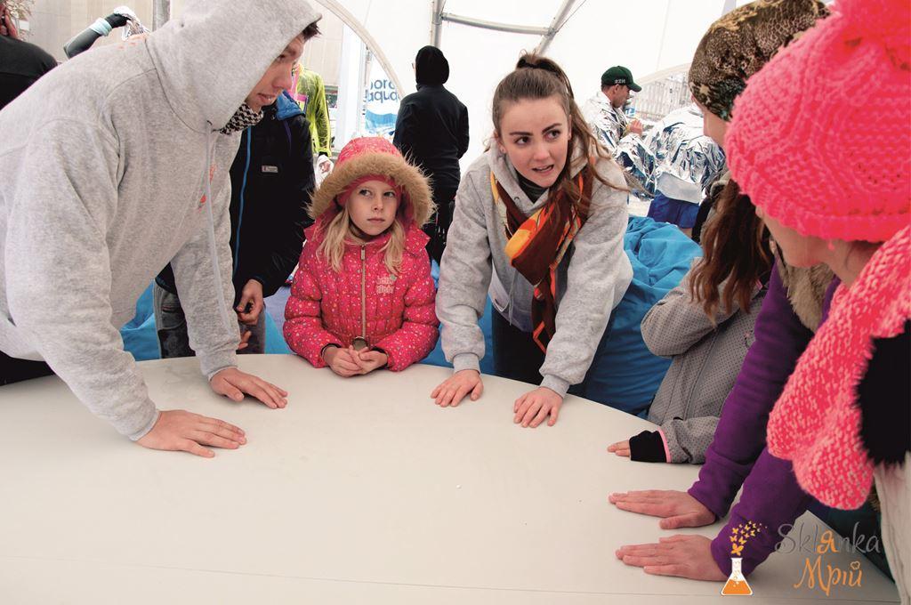 Организация детской зоны на Kyiv Half Marathon 9.10.2016 от Склянка Мрий 10
