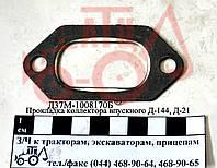 Прокладка коллектора впускного Д-144, Д-21 Д37М-1008170Б