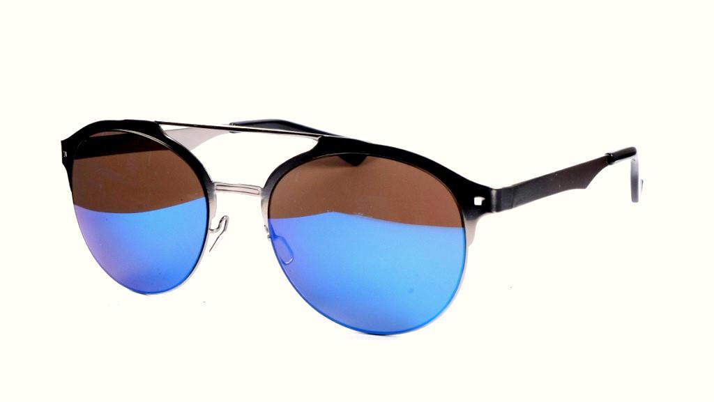 Сонцезахисні окуляри металеві, Toxic, дзеркальні