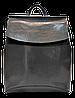 Классический женский рюкзак серого цвета из натуральной кожи NNV-000333