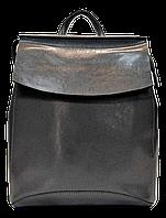 Классический женский рюкзак серого цвета из натуральной кожи NNV-000333, фото 1