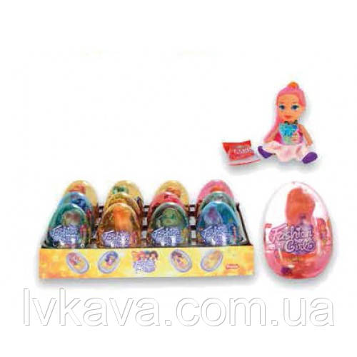 Яйцо-игрушка Prestige Eggs Fashion Girl  6g X 12 шт