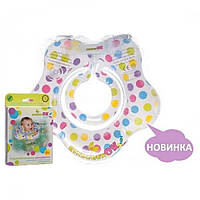 Круг для купания KinderenOK Confetti Прозрачный