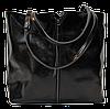 Удобная женская сумка из натуральной кожи черного цвета JJU-7544475