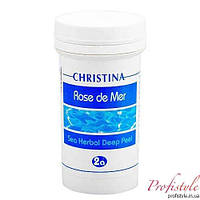 Натуральный насыщенный пилинг (порошок) шаг 2а Cristina Rose de Mer Sea Herbal Deep Peel 100 мл