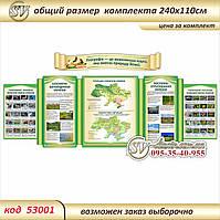 Стенд для кабінету географії - Україна