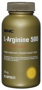 L-Arginine 500 90 cap GNC