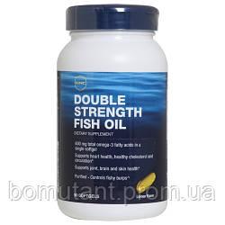 Double Strength Fish Oil 90 softgels GNC