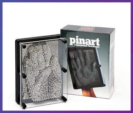 Сувенір Пін Арт гвоздики 3D, експрес-скульптор середнє ART-PIN, фото 2