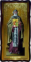 Святой Александр Свирский образ православной иконы