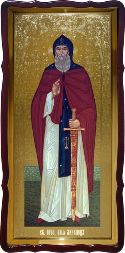 Святий Ілля Муромець християнська церковна ікона