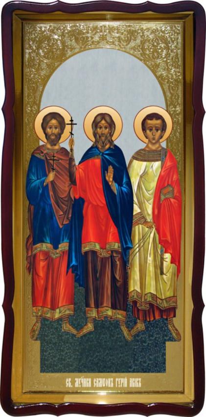 Святі сам він, Гурій та Авів ростова ікона
