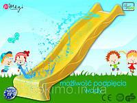 Спуск для детской горки 3 м. Желтый