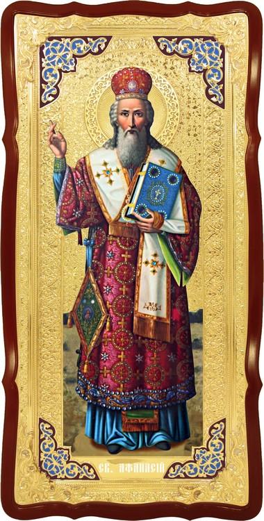 Християнська ікона Святий Атанасій