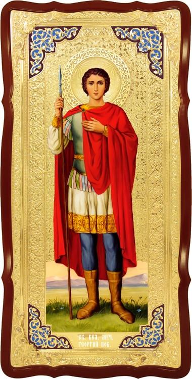 Ікона для іконостасу Святий Георгій
