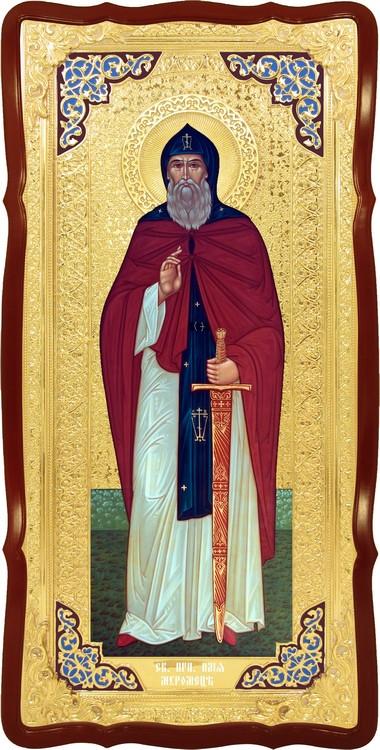 Большая храмовая икона Святой Илья Муромец